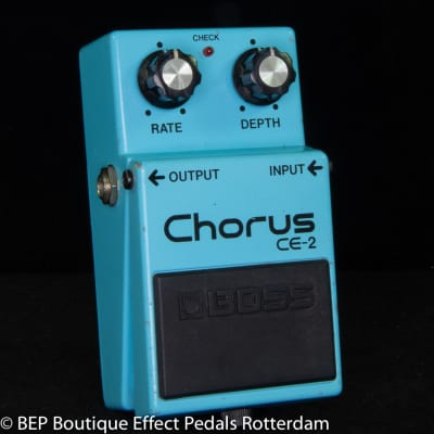 Boss CE-2 Chorus 1988 s/n 932493 as used by Josh Klinghoffer, Johnny Marr, Jimmy Page.