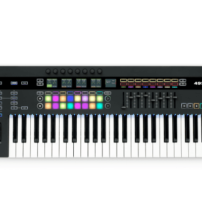 Novation 49SL MkIII 49-Key MIDI Controller with Sequencer