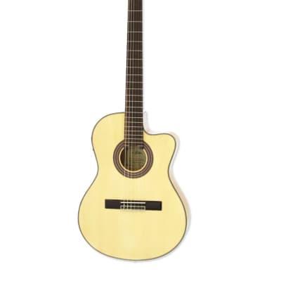 ARIA A-48CE N thin body cutaway classical guitar for sale