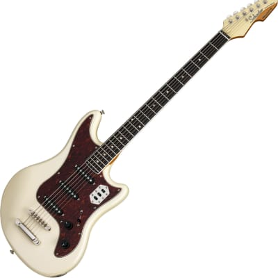 Schecter Hellcat-VI Electric Guitar Ivory Pearl for sale