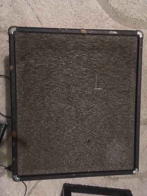 1968 Ampeg B15 Bass Cabinet W Original Speaker No Head
