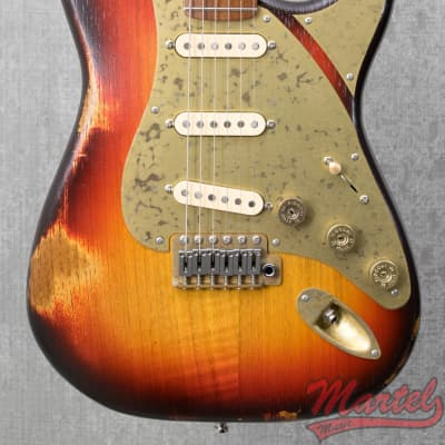 Paoletti Guitars Stratospheric Loft SSS 3 Tone Sunburst for sale