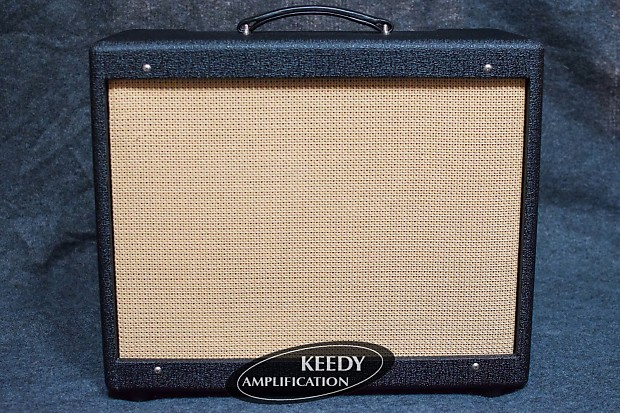 1x12 Solid Pine Cabinet with Rough Black tolex and Cane grillcloth for 5F11  chassis