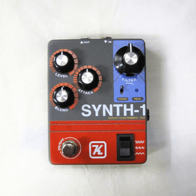 Keeley Synth 1 Reverse Attack Fuzz Wave Generator