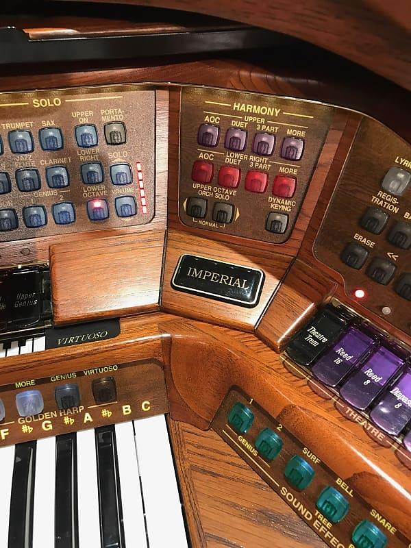 Lowrey Imperial Organ Oak Family Music Centers Henderson