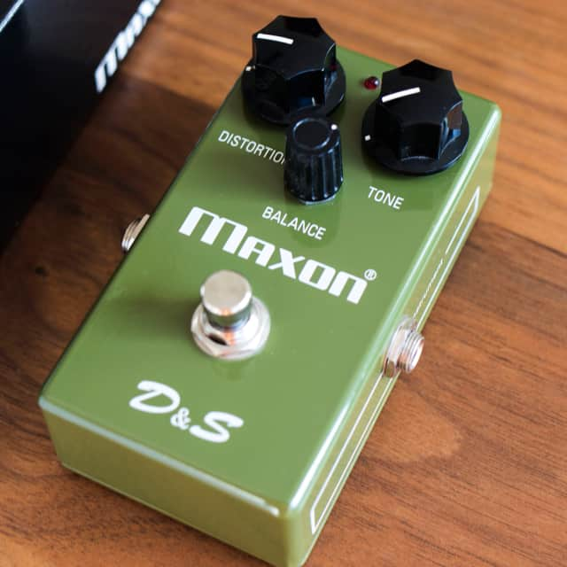 Maxon D&S Distortion and Sustainer image