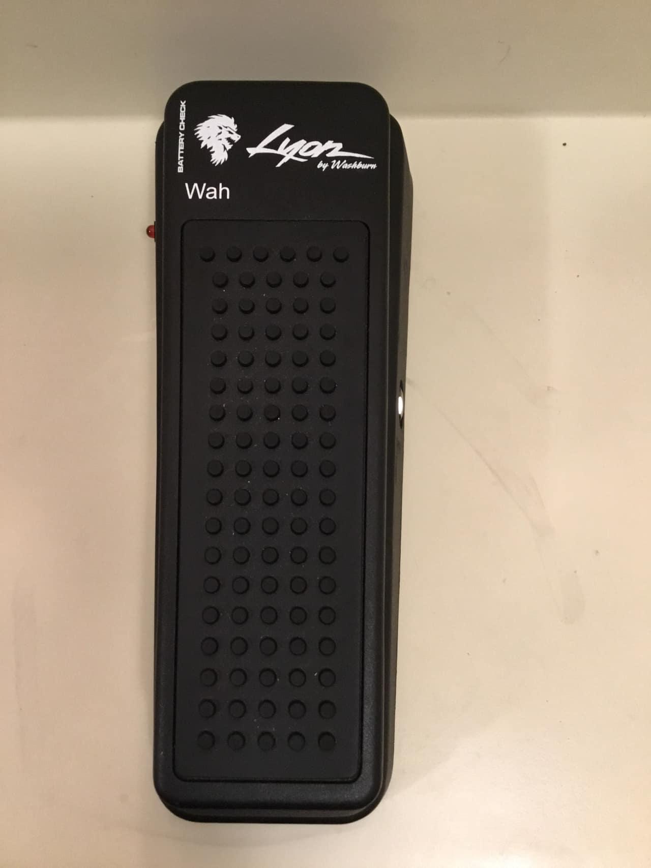 lyon washburn wah guitar pedal washburn black reverb. Black Bedroom Furniture Sets. Home Design Ideas