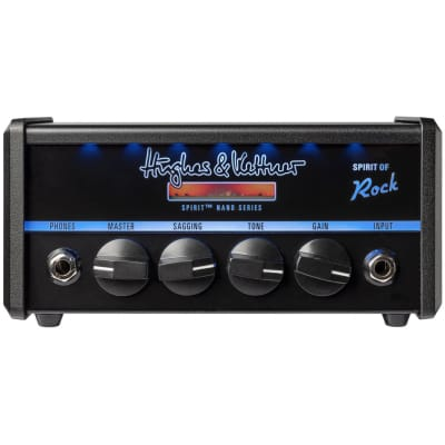 Hughes & Kettner Spirit Nano Head - Spirit of Rock 50W Guitar Amplifier Head for sale