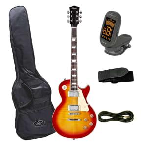 Artist LP60 Cherry Sunburst Electric Guitar with Accessories for sale