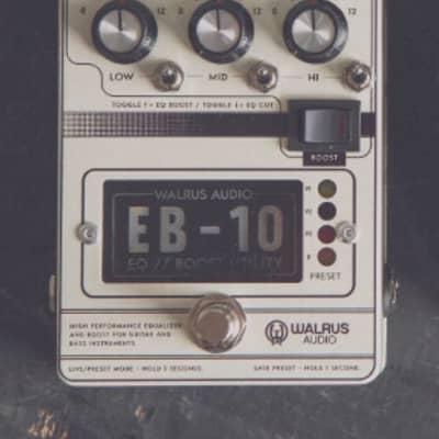 Walrus Audio EB-10 EQ Boost, Cream for sale