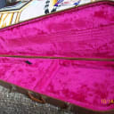 Gibson Bass case Brown and Pink
