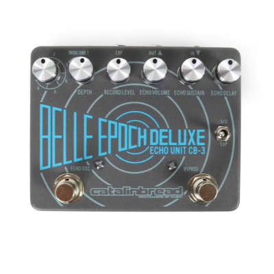 Catalinbread Belle Epoch Deluxe Tape Echo Delay Guitar Effects Pedal (with expression capability)