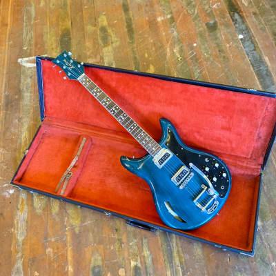 Kustom K200 deluxe c 1968 Turquoise original vintage USA bud Ross roger rossmeisl dearmond dynasonic bigsby for sale