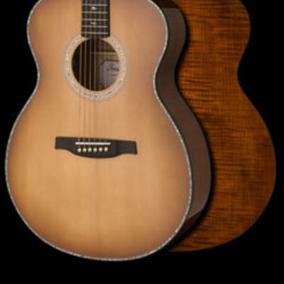 PRS SE Tonare Series T50E Acoustic/Electric Guitar, Vintage Sunburst Finish, w/ PRS Hardshell Case