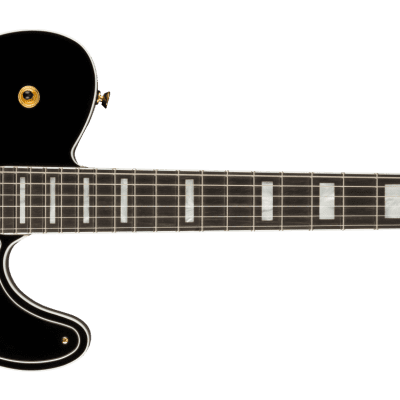 Fender Parallel Universe Volume II Troublemaker Tele Custom Bigsby-Black for sale