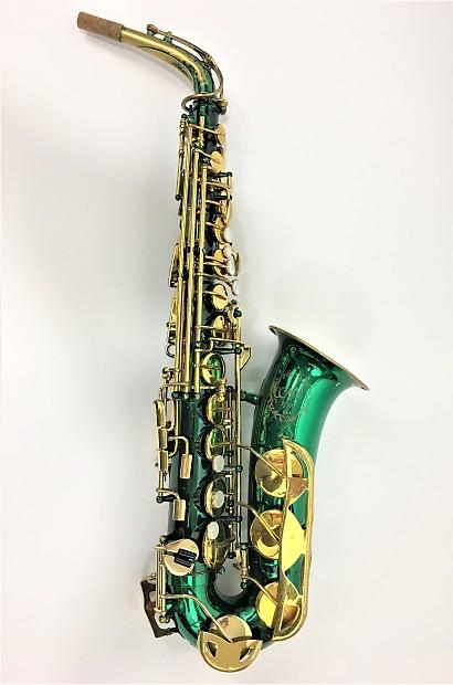 Conn 21M 1960's Alto Saxophone Anodized Green | Reverb