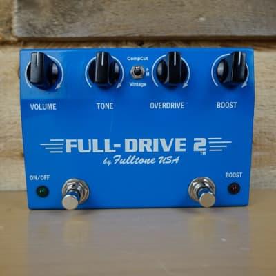 Fulltone Full-Drive 2 Overdrive Effects Pedal