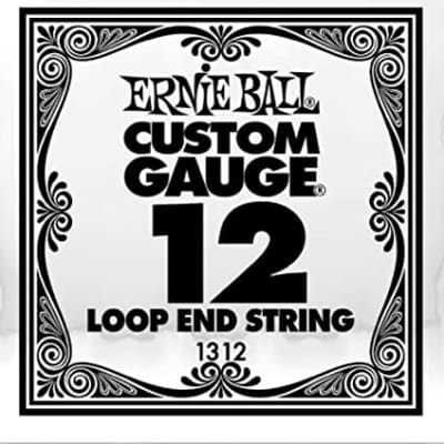 Ernie Ball Loop End Single Steel .012