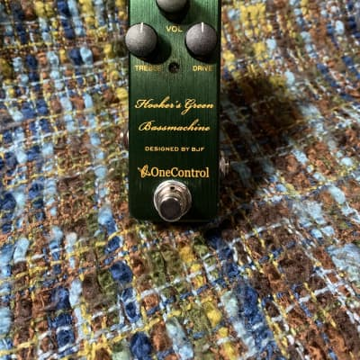 One Control Hooker's Green Bassmachine Green for sale