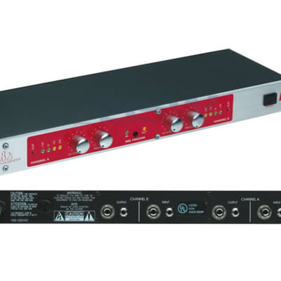 BBE 482i Sonic Maximizer 2-channel Signal Processor with Easy-to-use Features, 5-segment LEDs