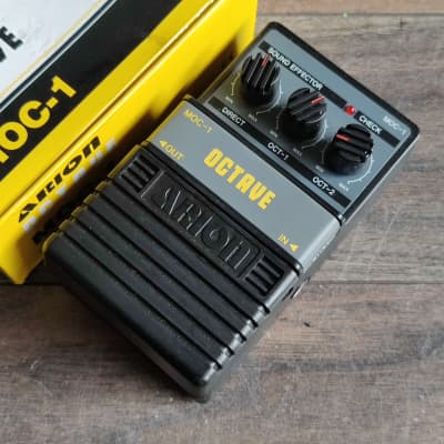 Arion MOC-1 (Boss OC-2 Style) Octave Vintage Effects Pedal w/Box for sale