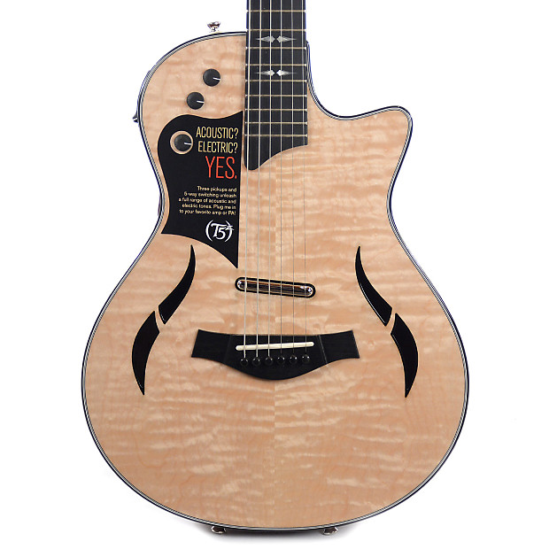 taylor t5z pro qm ltd aa grade quilted maple shaded sapele reverb. Black Bedroom Furniture Sets. Home Design Ideas