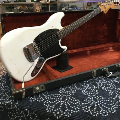 Fender Mustang 1978 White