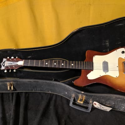Kay Vanguard Electric Guitar in Case Vintage 1960's USA for sale