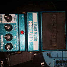 DigiTech DigiVerb Digital Reverb