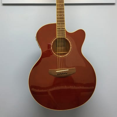 Yamaha Compass Acoustic/ Electric Spruce Top Root Beer for sale