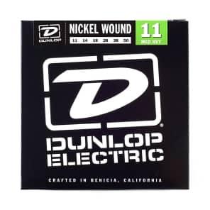 Dunlop DEN1150 Nickel-Plated Steel Electric Guitar Strings - Medium Heavy (11-50)