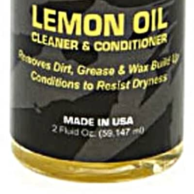 D'Andrea DAL2 Lemon Oil Cleaner and Conditioner Insturment Fretboard Lemon Oil - 2 Oz.
