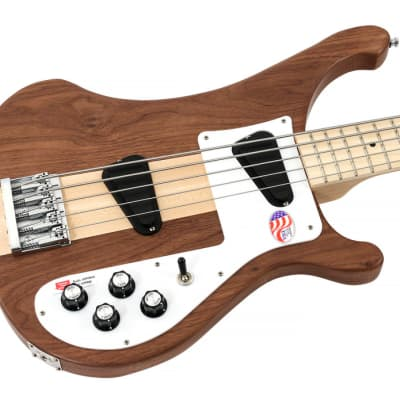 Rickenbacker 4003s 5 String Electric Bass Walnut