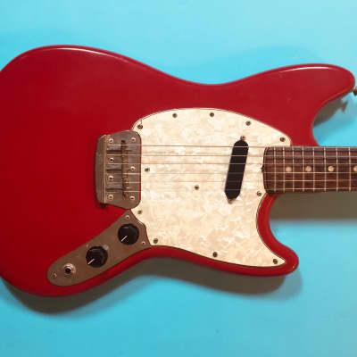 Fender Musicmaster 1972 Dakota Red for sale