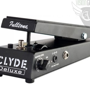 Fulltone CLYDE Deluxe Wah Pedal - Tuned Inductor - 3 Selectable Modes