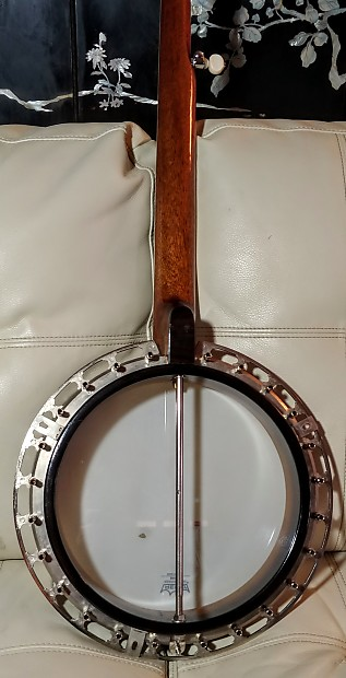 Vintage M32 Gibson Recording King five string conversion banjo