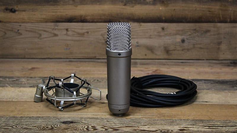 rode nt1 a condenser microphone w shock mount cable reverb. Black Bedroom Furniture Sets. Home Design Ideas