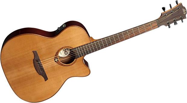 lag guitars t100ace display model acoustic electric guitar reverb. Black Bedroom Furniture Sets. Home Design Ideas