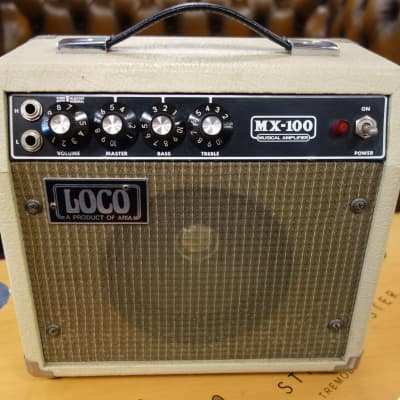 Aria LOCO Mx 100 vintage mini practice amp for sale