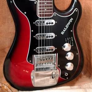 Baldwin Jazz Guitar Sunburst 1965