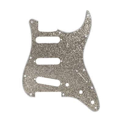 D'Andrea Pick Guard for Strat Silver Sparkle for sale