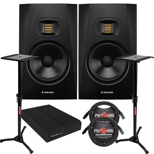 Astounding Adam Audio T7V Active Studio Monitor Speaker Pair W Pads Reverb Wiring Digital Resources Bemuashebarightsorg