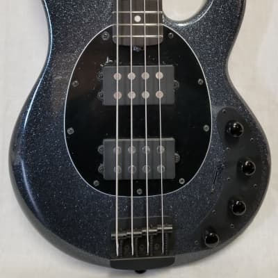 Music Man StingRay Special 4-String HH Electric Bass, Charcoal Sparkle, Roasted Maple/Ebony Neck, w/Case for sale