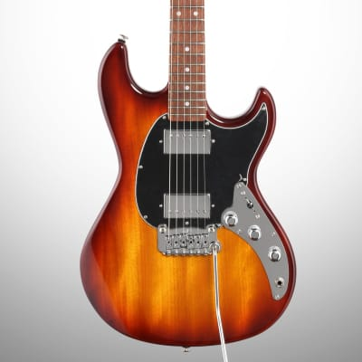 G&L Fullerton Deluxe Skyhawk HH Electric Guitar, Brazilian Cherry Fingerboard (with Case) for sale