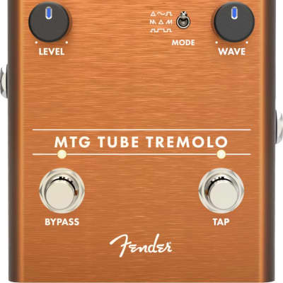 Fender MTG Tube Tremolo Effect Pedal - Tube Warmth & Drive!