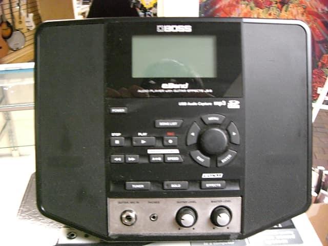 Boss eband js-8 audio player with guitar effects turbostart roland.