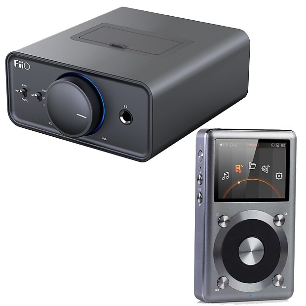 Fiio K5 Desktop Headphone Amplifier with FiiO X3-II Portable