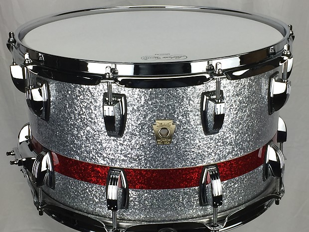 Ludwig 8x14 Classic Maple Snare Drum 2016 OSU Colors