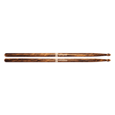 Pro-Mark TX5AWFG FireGrain Classic 5A Hickory Wood Tip Drum Sticks