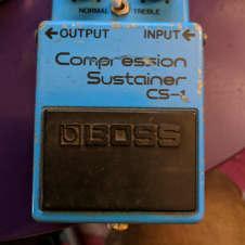 Boss CS-1 Compressor 1980 Blue